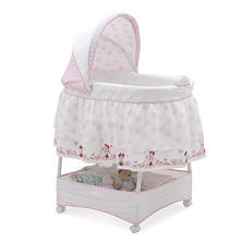 Disney Minnie Mouse Gliding Bassinet, Minnie's Bows & Butterflies