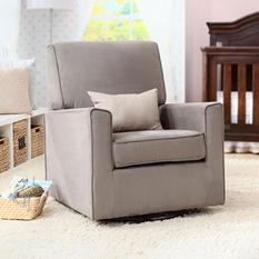 Delta Children Ava Nursery Glider Swivel Rocker Chair (Choose Your Color)