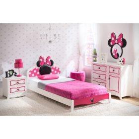 Delta Children Minnie Mouse 4-Piece Twin Bedroom Set