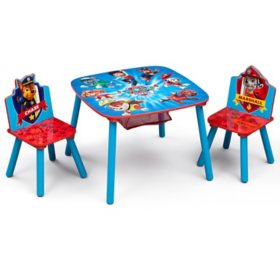 Nick Jr. PAW Patrol Table and Chair Set with Storage by Delta Children