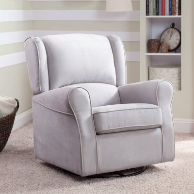 Delta Children Morgan Upholstered Glider (Choose Your Color)