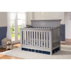 Serta Fernwood 4-in-1 Convertible Crib (Choose Your Color)