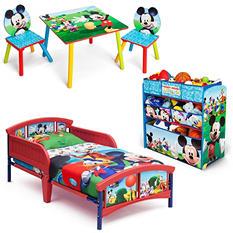 Delta Children Mickey Mouse 3-Piece Toddler Bedroom Set