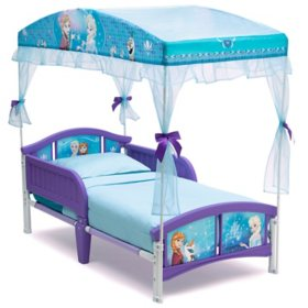 Disney Frozen Canopy Toddler Bed by Delta Children
