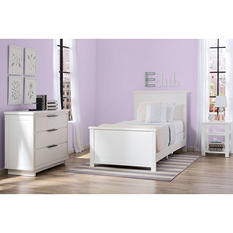 Delta Children Woodfield Room-in-a-Box 3-Piece Bedroom Furniture Set (Assorted Colors)