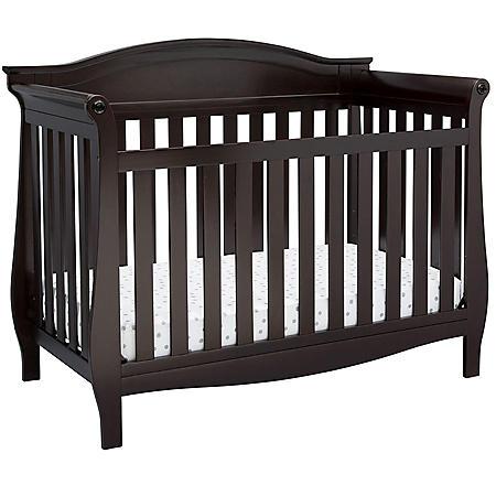 Delta Children Lancaster 4-in-1 Convertible Crib (Choose Your Color)