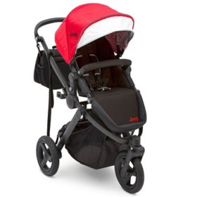 Jeep Sport Utility All-Terrain Jogger by Delta Children, Red/Black