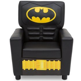 Batman High Back Upholstered Chair by Delta Children