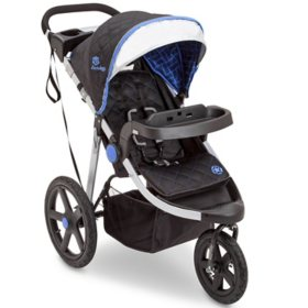 Jeep Adventure All-Terrain Jogger Stroller by Delta Children (Choose Your Color)