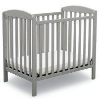 Delta Children Mini Crib with Mattress (Choose Your Color)