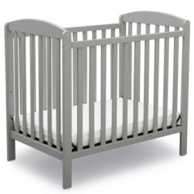 Delta Children Mini Crib with Mattress (Choose Your Color)
