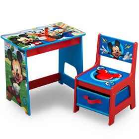 Disney Mickey Mouse Kids Wood Desk and Chair Set by Delta Children