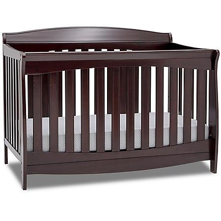 Delta Children Colton 6-in-1 Convertible Crib (Choose Your Color)