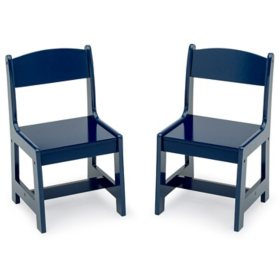 Delta Children MySize Chairs - Pack of 2, Assorted Colors