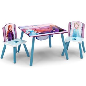 Disney Frozen II Table and Chair Set with Storage by Delta Children
