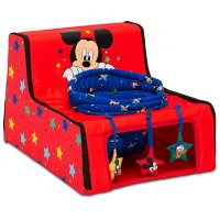 Disney Mickey Mouse Sit 'N' Play Portable Activity Seat for Babies by Delta Children