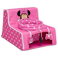Disney Minnie Mouse Sit 'N' Play Portable Activity Seat for Babies by Delta Children