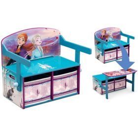 Disney Frozen II Convertible Activity Bench by Delta Children