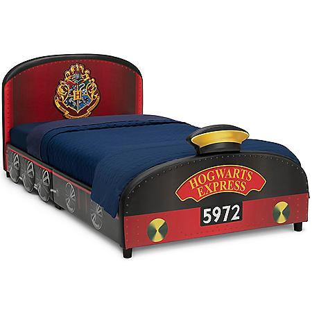 Harry Potter Hogwarts Express Upholstered Twin Bed by Delta Children