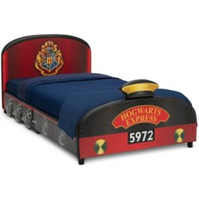 Harry Potter Hogwarts Express Upholstered Twin Bed by Delta Children