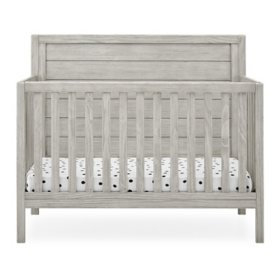 Delta Children Cambridge 4-in-1 Convertible Crib, Rustic Mist