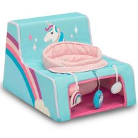 Delta Children Sit N Play Portable Activity Seat for Babies (Choose Your Style)
