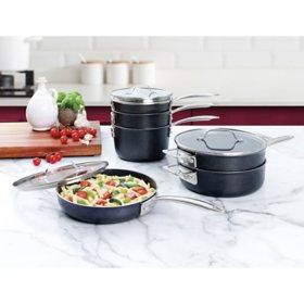 Granitestone Diamond Pro Stackmaster 10-Piece Cookware Set