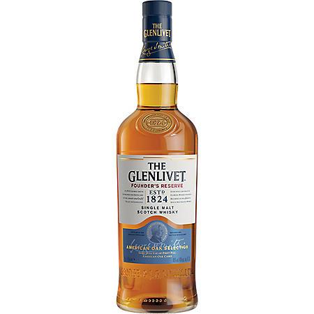 The Glenlivet Founder's Reserve Scotch Whisky (750 ml)