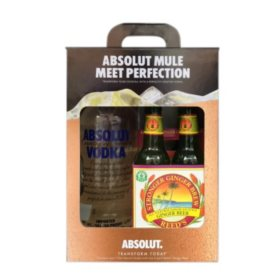 Absolut Moscow Mule Holiday Pack (1.75 L)