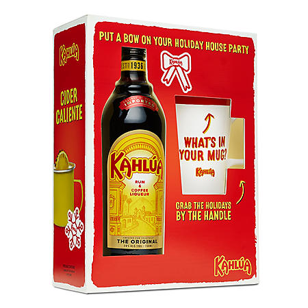 Kahlua Liqueur with Kahlua Mug (750 ml)