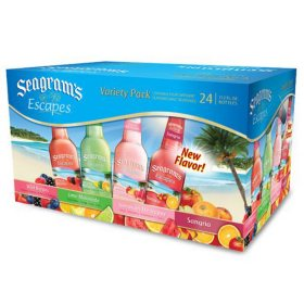 Seagram's Escapes Variety Pack (11.2 fl. oz bottle, 24 ct.)