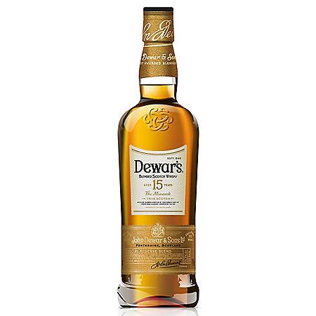 Dewar's 15 Year Old Blended Scotch (750 ml)
