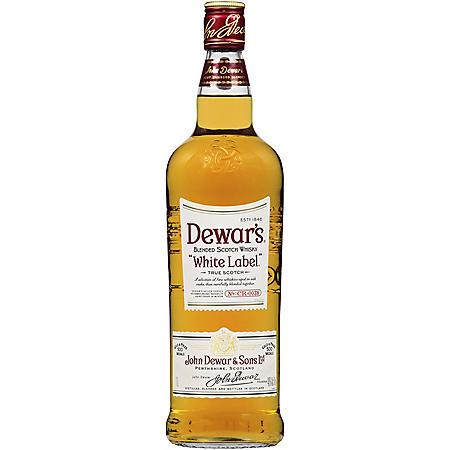 Dewar's White Label Blended Scotch Whisky (1 L)
