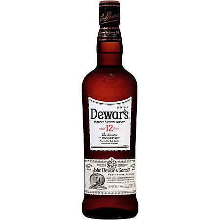 Dewar's 12 Year Special Reserve Blended Scotch Whisky (750 ml)
