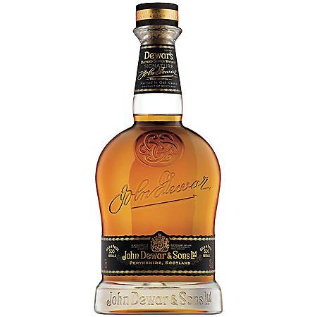 Dewar's Signature Blended Scotch Whisky (750 ml)