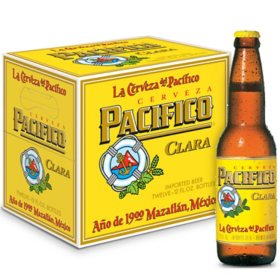 Pacifico Clara Mexican Import Lager Beer (12 fl. oz. bottle, 12 pk.)