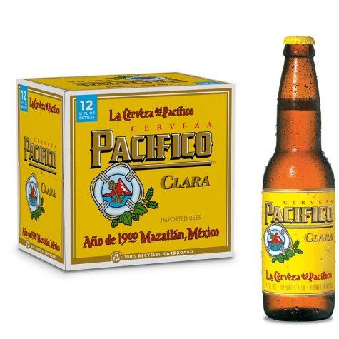 PACIFICO CLARA 12 / 12 OZ BOTTLES