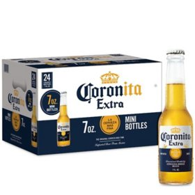 Corona Extra Coronita Mexican Lager Beer (7 fl. oz. bottle, 24 pk.)