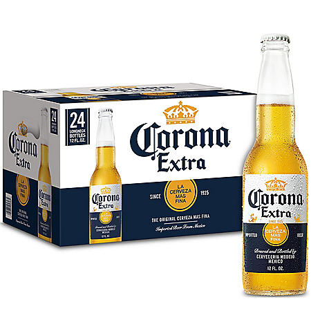 Corona Extra Mexican Lager Beer (12 fl. oz. bottle, 24 pk.)