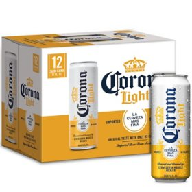 Corona Light Mexican Lager Beer (12 fl. oz.can, 12 pk.)