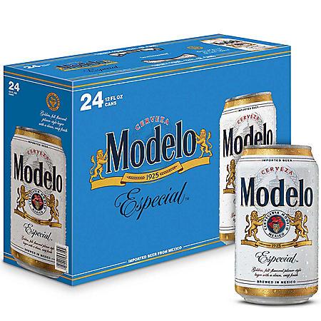 Modelo Especial Lager Beer (12 fl. oz. can, 24 pk.)