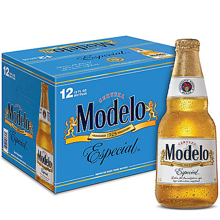 Modelo Especial Mexican Lager Beer (12 fl. oz. bottle, 12 pk.)