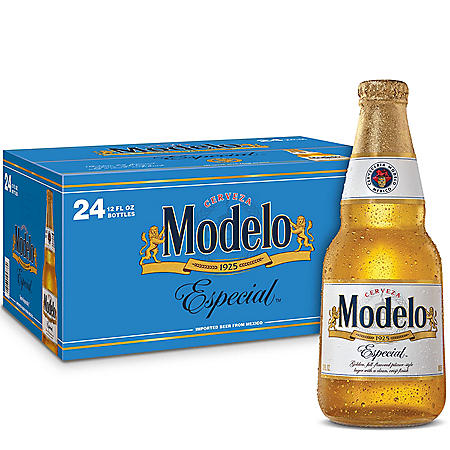 Modelo Especial Mexican Lager Beer (12 fl. oz. bottle, 24 pk.)