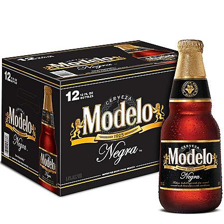Modelo Negra Mexican Amber Lager Beer (12 fl. oz. bottle, 12 pk.)