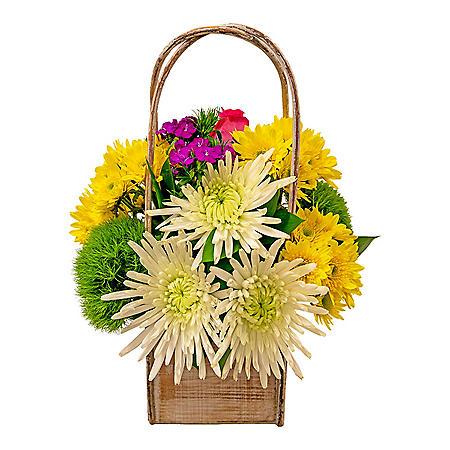 Large Arrangement with Vase