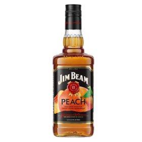 Jim Beam Peach Liqueur Kentucky Straight Bourbon Whiskey (750 ml)