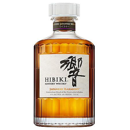 Hibiki Suntory Whisky, Japanese Harmony (750 ml)