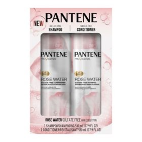 Pantene Pro-V Blends Rose Water Sulfate-Free Soothing Shampoo and Conditioner (2 pk.)