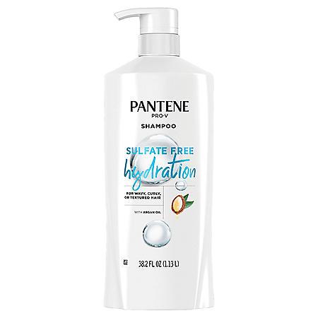 Pantene Pro-V Sulfate Free Hydration Shampoo with Argan Oil (38.2 fl. oz.)