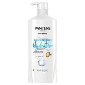Pantene Pro-V Sulfate Free Hydration Shampoo with Argan Oil (38.2 fl. oz.)